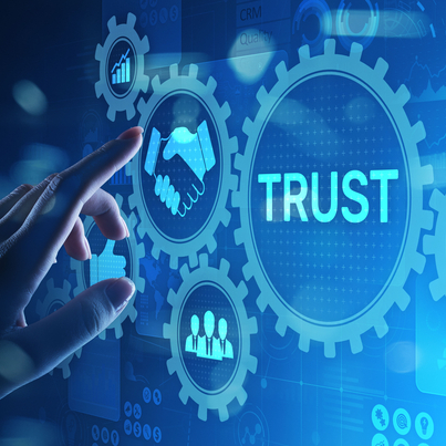 Trust improves reputation